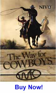 Cowboy Bible: NIV The Way for Cowboys - In single copies or cases of 50