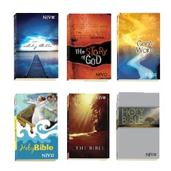 Wholesale NIV Outreach Bibles in bulk
